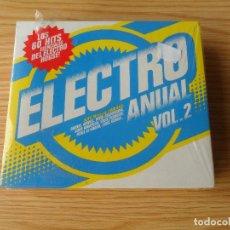 CDs de Música: ELECTRO ANUAL VOL. 2 - CAJA CON 3 CD PRECINTADO. Lote 98169655