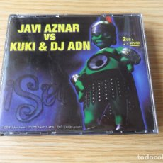 CDs de Música: JAVI AZNAR VS. KUKI & DJ ADN - 2 CD + DVD. Lote 98170251