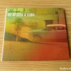 CDs de Música: DE ÁFRICA A CUBA - CD DIGIPACK. Lote 98170335
