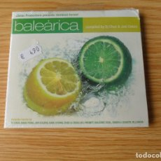CDs de Música: BALEÁRICA - COMPILED BY DJ CHUS & JAVI COLORS - CD DIGIPACK PRECINTADO. Lote 98170819