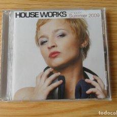 CDs de Música: HOUSE WORKS COMPILATION - SUMMER 2009 - 2 CD. Lote 98172983