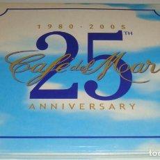 CDs de Música: 3 CD - CAFE DEL MAR - 25 ANNIVERSARY - 1980 - 2005 - CAFE DEL MAR. Lote 98188759