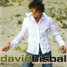 CDs de Música: CD DAVID BISBAL ¨CORAZÓN LATINO¨. Lote 98201671