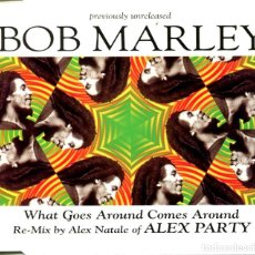 CDs de Música: BOB MARLEY / WHAT GOES AROUND COMES AROUND (5 VERSIONES) CD SINGLE CAJA 1996) MAX MUSIC. Lote 98341543