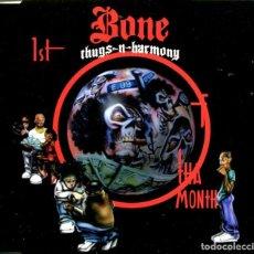 CDs de Música: BONE THUGS-N-HARMONY / 1ST OF THE MONTH (5 VERSIONES( / DIE,DIE,DIE (CD SINGLE CAJA 1995). Lote 98343435