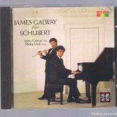 CDs de Música: SCHUBERT - JAMES GALWAY (FLUTE) & PHILLIP MOLL (PIANO) (CD 1984, RCA RD70421). Lote 98361987