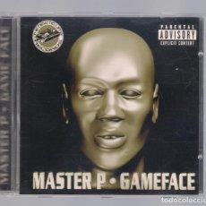 CDs de Música: MASTER P - GAME FACE (CD 2001, UNIVERSAL RECORDS 422 860 977-2). Lote 98362831
