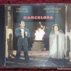 CDs de Música: FREDDIE MERCURY & MONTSERRAT CABALLÉ (BARCELONA) CD 1992. Lote 98370235