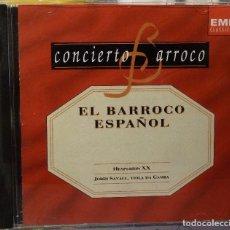 CDs de Música: EL BARROCO ESPAÑOL. Lote 98382707