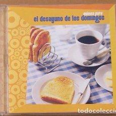 CDs de Música: MUSICA PARA EL DESAYUNO DE LOS DOMINGOS - (CD) 2003- 11 TEMAS - NYMAN, OLDFIELD, ZAZOU, JOHN CALE,. Lote 98382791