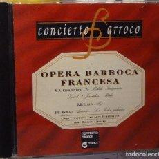 CDs de Música: OPERA BARROCA FRANCESA . Lote 98383303