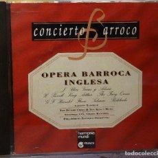 CDs de Música: OPERA BARROCA INGLESA. Lote 98383411