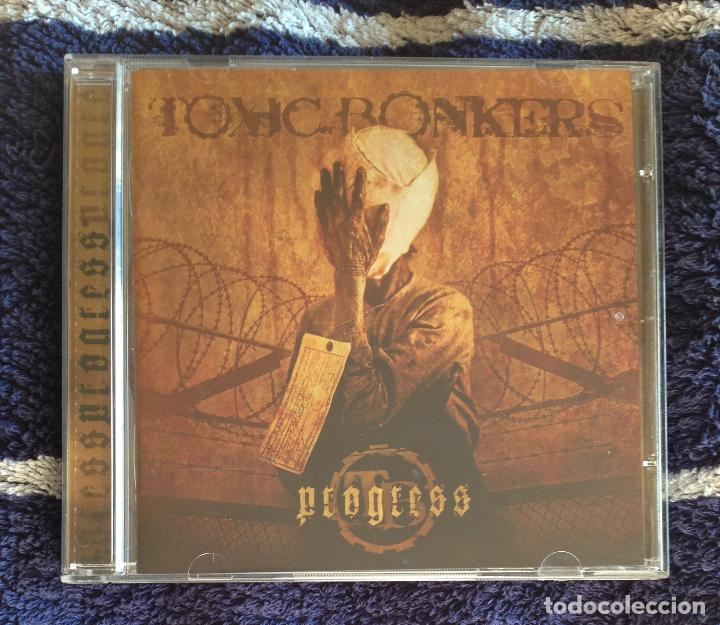 TOXIC BONKERS - PROGRESS CD - DEATH METAL GRINDCORE