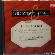 CDs de Música: J.S.BACH - MAGNIFICAT EN RE MAYOR BWV243. Lote 98384451