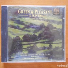 CDs de Música: CD GREEN & PLEASANT LAND - A SELECTION OF POPULAR CLASSICAL THEMES (3J). Lote 98384567