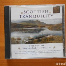 CDs de Música: CD SCOTTISH TRANQUILITY - PHIL COULTER - PIANO & ORCHESTRAL CLASSICS (3J). Lote 98384787