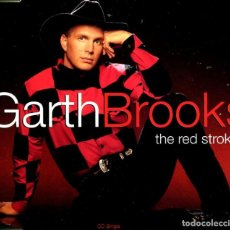 CDs de Música: GARTH BROOKS / THE RED STROKES / THE DANCER / THAT SUMMER + 1 (CD SINGLE CAJA 1993). Lote 98385739