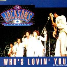 CDs de Música: THE JACKSON 5 / WHO'S (LIVE) / LOVIN' (LIVE) / YOU (CD SINGLE CAJA 1992). Lote 98386995