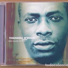 CDs de Música: YOUSSOU N'DOUR - JOKO FROM VILLAGE TO TOWN (CD) 2000 - 16 TEMAS. Lote 98388923