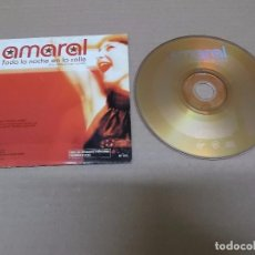 CDs de Música: AMARAL (CD/SINGLE) TODA LA NOCHE EN LA CALLE AÑO 2002 - PROMOCIONAL. Lote 98393615