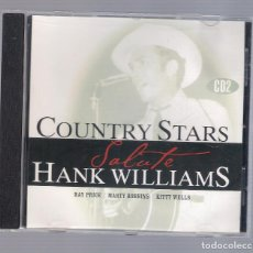 CDs de Música: RAY PRICE, MARTY ROBBINS, KITTY WELLS - COUNTRY STARS SALUTE HANK WILLIAMS CD2 (CD 2011, GSS 5662). Lote 98399475