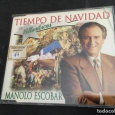 CDs de Música: MANOLO ESCOBAR (TIEMPO DE NAVIDAD. VILLANCICOS) CD 5 TRACK PROMO (CDI9). Lote 98406115