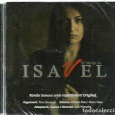 CDs de Música: CD ISAVEL, EL MUSICAL ( BANDA SONORA CON MUSICA DE ANTONI MAS Y MARC MAS ). Lote 98410031