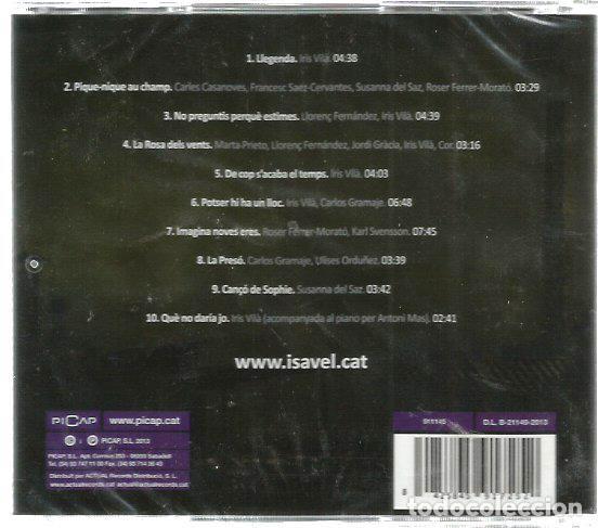 CDs de Música: CD ISAVEL, EL MUSICAL ( BANDA SONORA CON MUSICA DE ANTONI MAS Y MARC MAS ) - Foto 2 - 98410031