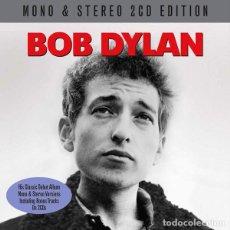 CDs de Música: BOB DYLAN * 2CD * MONO & STEREO DEBUT ALBUM * LTD FUNDA DE CARTÓN * PRECINTADO * BONUS * RARE. Lote 195247893