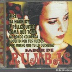 CDs de Música: VV.AA. - SABOR DE RUMBAS - CD FONODISCO 2001 - ALYNA MAYA, GITANIKO, GITANIKAS, ZAHIMA, RUMBASÓN..... Lote 98429899