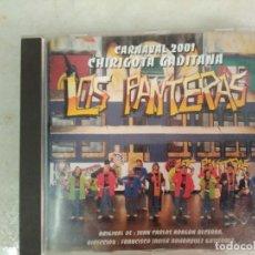 CDs de Música: CARNAVAL DE CADIZ CD CHIRIGOTA LOS PANTERAS. Lote 98440079
