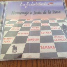 CDs de Música: CD TU FRIALDAD. HOMENAJE A DE LA ROSA (TRIANA). BUNBURY, MEDINA AZAHARA, TENA, ALAMEDA.... Lote 98442376
