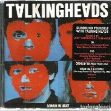 CDs de Música: DOBLE CD / DVD TALKING HEADS : REMAIN IN LIGHT . Lote 98494811