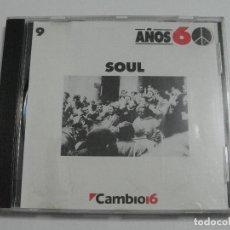 CDs de Música: SOUL AÑOS 60 CD. Lote 98495527