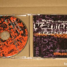 CDs de Música: 2PAC AND SNOOP DOGGY DOGG - WANTED DEAD OR ALIVE __ CD SINGLE (3 TEMAS). Lote 98507947
