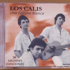 CDs de Música: LOS CALIS - UNA PALOMA BLANCA (2 CD) 2000 - 30 GRANDES CANCIONES. Lote 98508519