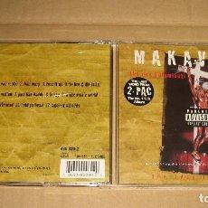 CDs de Música: MAKAVELI - DON KILLUMINATI: THE 7 DAY THEORY (IND 90039 - 1ªEDICIÓN 1996 - DEATH ROW) . Lote 98508955