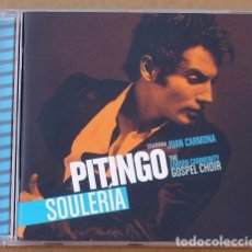 CDs de Música: PITINGO - SOULERIA (CD) 2008 - 17 TEMAS - JUAN CARMONA. Lote 98514355
