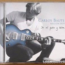 CDs de Música: CARLOS BAUTE - EDICIÓN 2009, DE MI PUÑO Y LETRA (CD) 2009 - 16 TEMAS. Lote 98514947