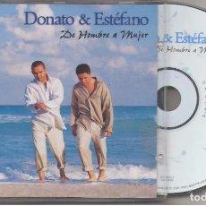 CDs de Música: DONATO & ESTEFANO DE HOMBRE A MUJERCDSONY MUSIC1999. Lote 98533043