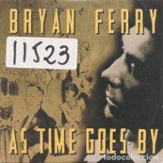 CDs de Música: BRYAN FERRY - AS TIME GOES BY (CDSINGLE CARTON PROMO DE 1999). Lote 98558503