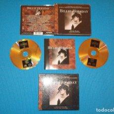 CDs de Música: BILLIE HOLIDAY - 2 CD DELUXE EDITION - R2CD 40-06 - DEJAVU RETRO - GOLD COLLECTION. Lote 98567995