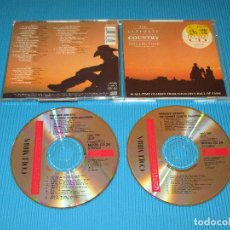 CDs de Música: THE ULTIMATE COUNTRY COLLECTION ( VARIOUS ARTISTS ) - 2 CD - DON GIBSON - PATSY CLINE - ALABAMA .... Lote 98572123