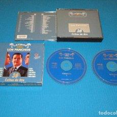CDs de Música: LATINOS DE ORO ( LOS PANCHOS ) - 2 CD - ASTRO - NOVOSON - CDL 33039-1/2 - 30 EXITOS DE ORO. Lote 98573411