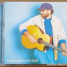 CDs de Música: JUAN LUIS GUERRA - NI ES LO MISMO NI ES IGUAL (CD) 1998 - 11 TEMAS. Lote 98573519