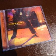 CDs de Música: RATONES PARANOICOS VIVO PARANOICO CD ROCK ARGENTINA . Lote 98577579