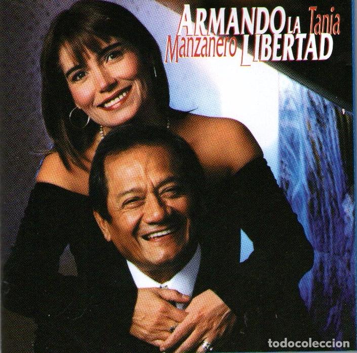 ARMANDO MANZANERO Y TANIA LIBERTAD - ARMANDO LA LIBERTAD - CD ALBUM - 15 TRACKS - HORUS 1998 (Música - CD's Latina)