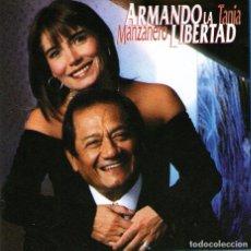 CDs de Música: ARMANDO MANZANERO Y TANIA LIBERTAD - ARMANDO LA LIBERTAD - CD ALBUM - 15 TRACKS - HORUS 1998. Lote 98580551