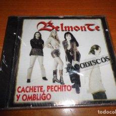 CDs de Música: BELMONTE CACHETE, PECHITO Y OMBLIGO REMIX CD ALBUM PRECINTADO DEL AÑO 1996 CONTIENE 11 TEMAS. Lote 98503271
