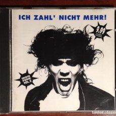 CDs de Música: V/A - ICH ZAHL' NICHT MEHR INDIE PUNK VOL. 2 CD - PUNK ROCK GOTHIC ROCK. Lote 42104314